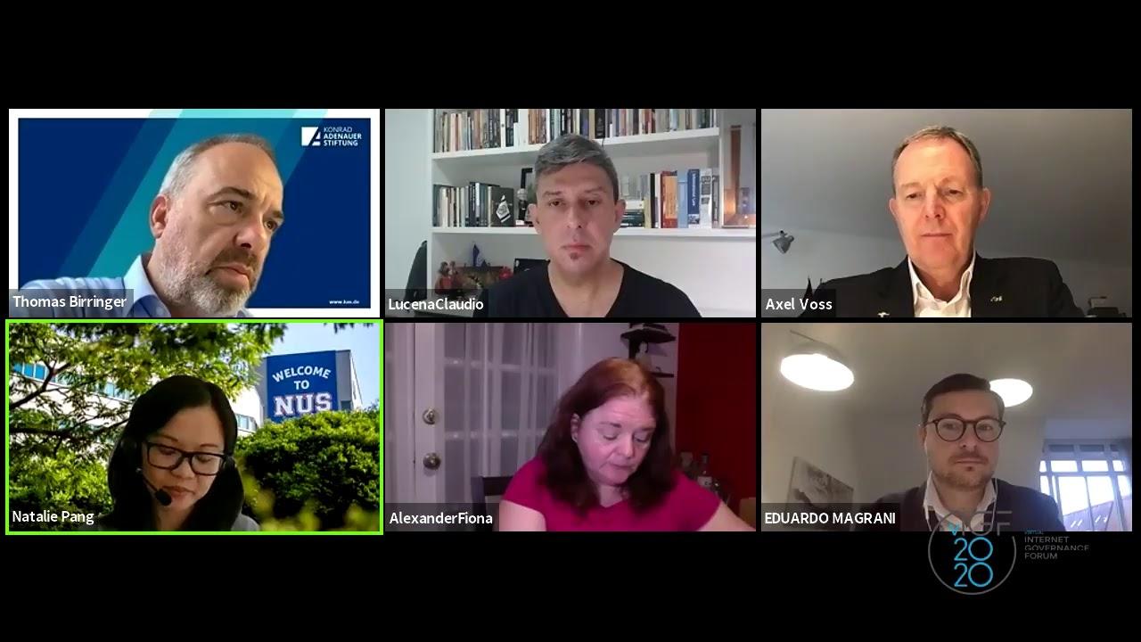 Oportunidades e desafios de um quadro global de Governança de Dados - Internet Governance Forum 2020