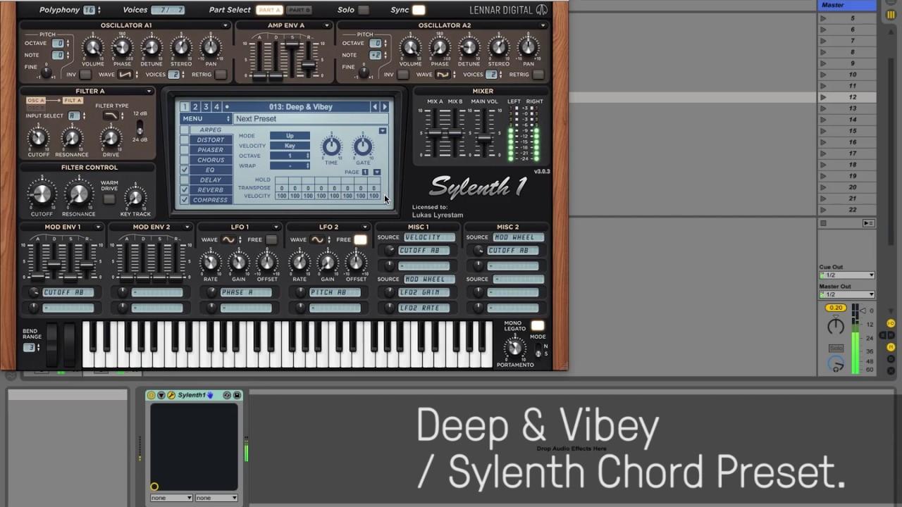 UNDRGRND Sounds - Classic Sylenth Chords #1