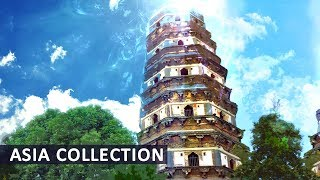 Traditional Asian Music ● Cherry Garden ● Instrumental Relaxing Chinese Music, Stress Relief, Study