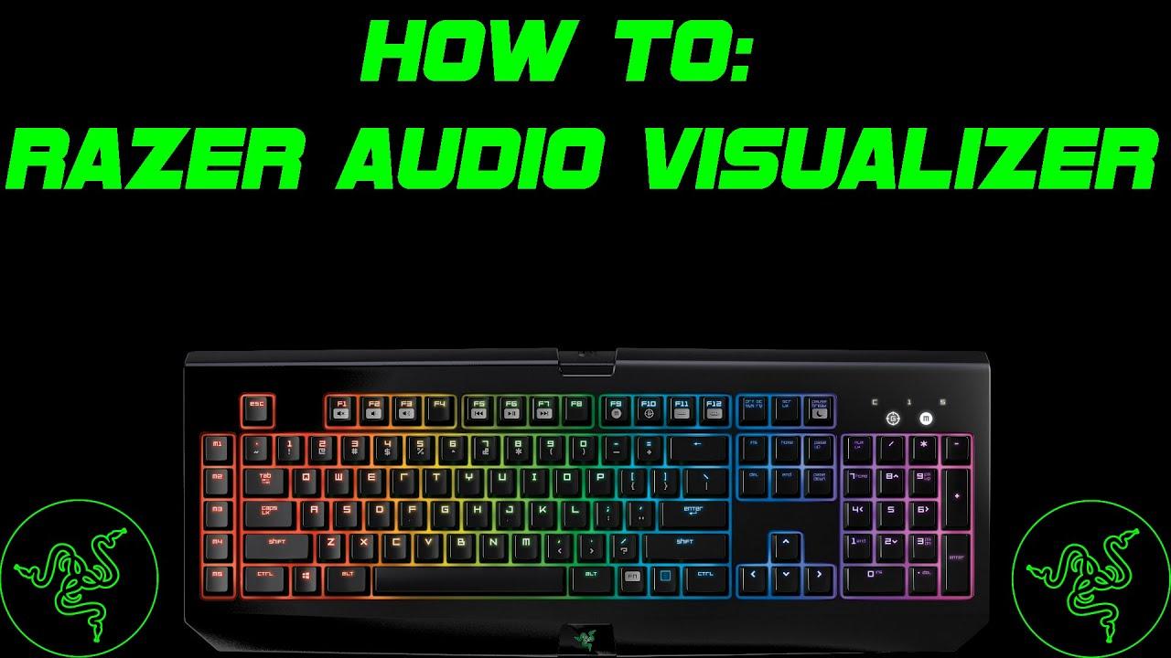 how to use razer audio visualizer ornata