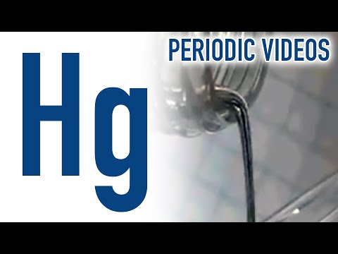 Mercury periodic table of videos youtube urtaz Image collections