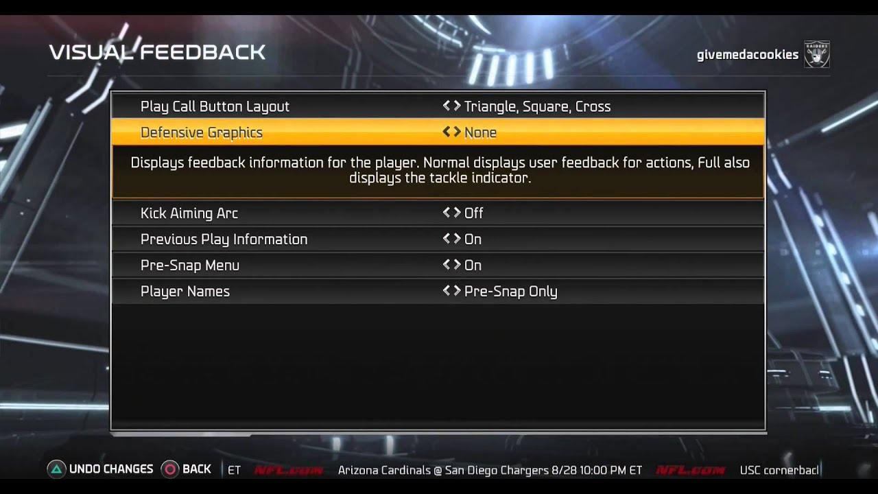 Madden 15 tips how to turn off tackling cone and other settings