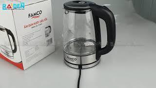 Ấm đun siêu tốc thủy tinh Famco 9630FC giá sỉ