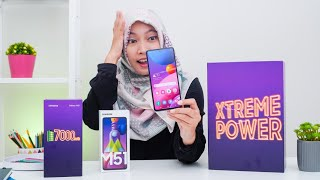 Parah Gede Banget? Samsung Galaxy M51 Unboxing Indonesia!