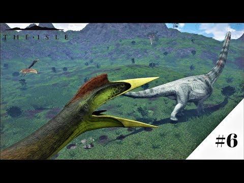 Quetzalcoatlus VS Rex and Puerta!   The Isle Gameplay #6