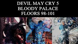 DMC 5 Bloody Palace Floors 98-101 (V)