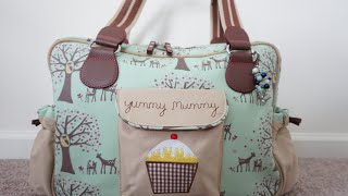 Review/Packing Video: Pink Lining Yummy Mummy Diaper Bag Packed with Ju-Ju-Be!