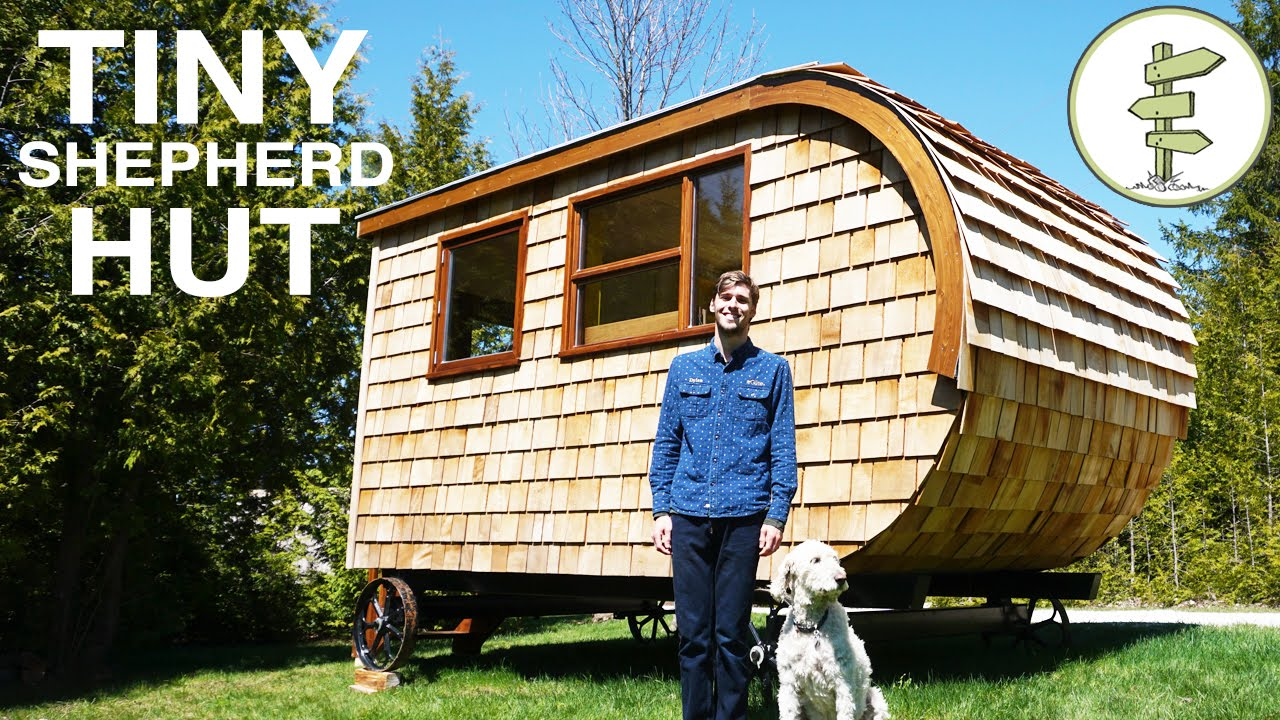 Tour of Modern Shepherd Hut Built by Gte A Great Tiny House