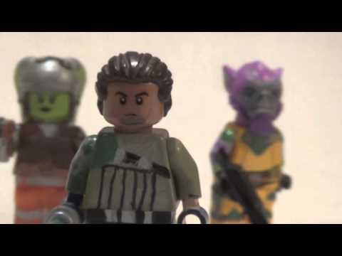 lego star wars rebels custom minifigures youtube