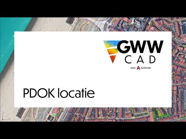 GWW-CAD: PDOK locatie