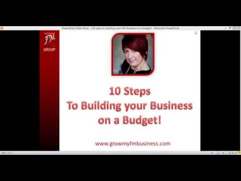10 Tips to Build your FM Business on a Budget!