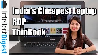 RDP Thinbook- India 39 s Cheapest Windows Laptop Review Intellect Digest
