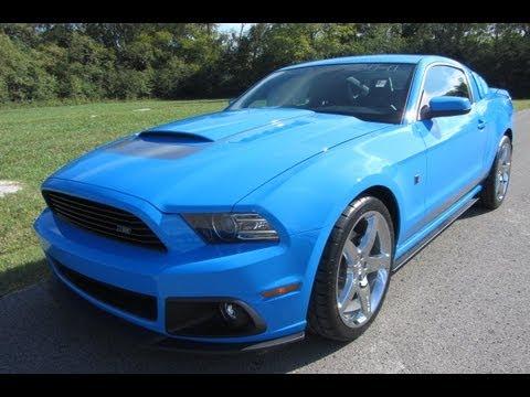 Grabber Blue Mustang >> 2013 ROUSH STAGE 2 5.0 V-8 GRABBER BLUE PERFOMANCE MUSTANG ...