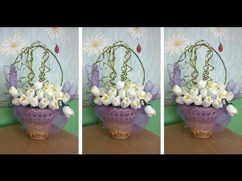 Искусственные цветы своими руками фото 554