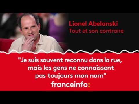 """Lionel Abelanski :""""Je suis souvent reconnu dans la rue"""""""