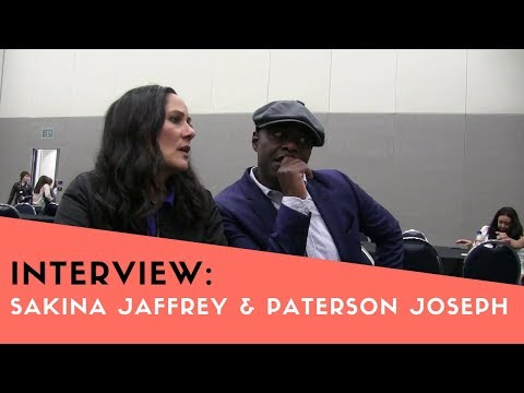 TIMELESS Wondercon 2018 Interview: Sakina Jaffrey & Paterson Joseph