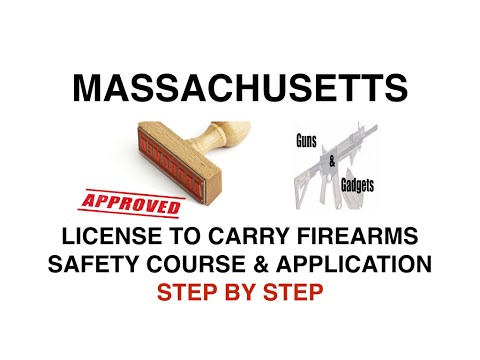The Massachusetts Gun Permit Process (LTC) Part 2 of 3: The Safety Course & Application