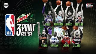 2020 Three-Point Contest Participants Revealed | 2020 NBA All-Star Weekend