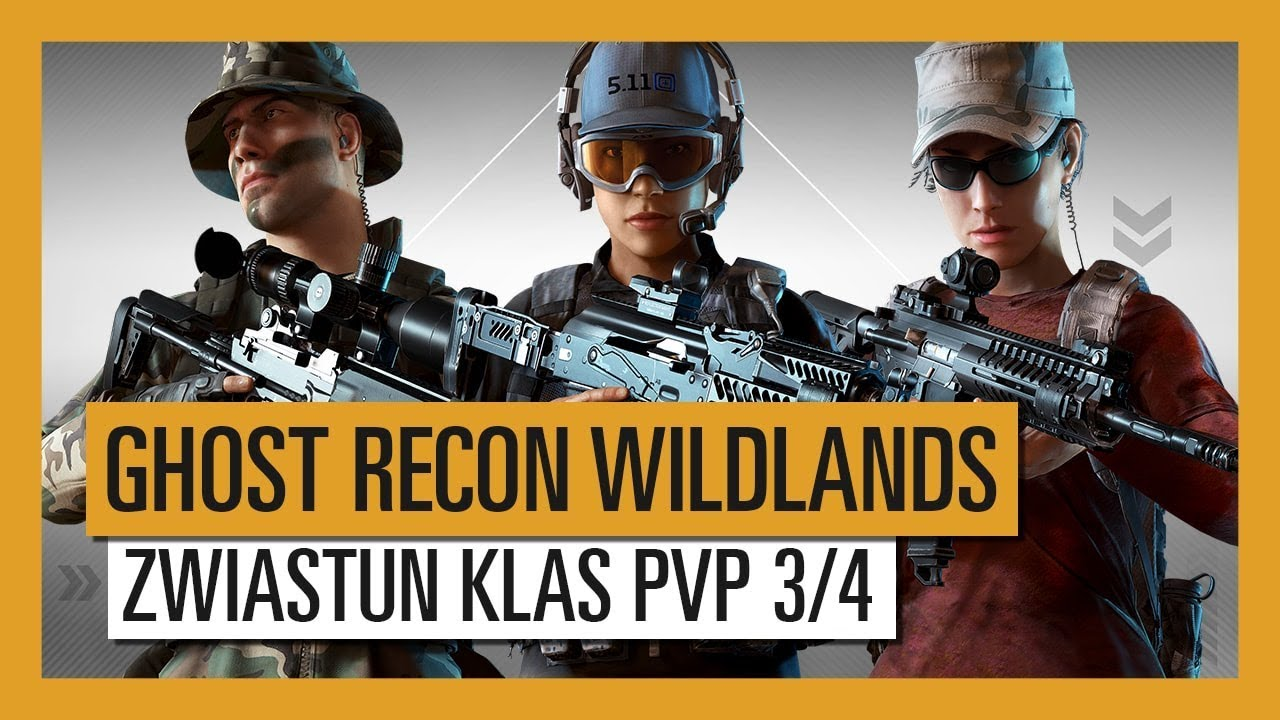 GHOST RECON WILDLANDS: Zwiastun Klas PvP Ghost War 3/4
