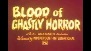 Blood of Ghastly Horror (1967) Trailer aka Man With The Synthetic Brain