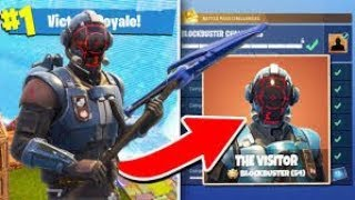 Fortnite : BLOCKBUSTER SKIN GAMEPLAY!!!