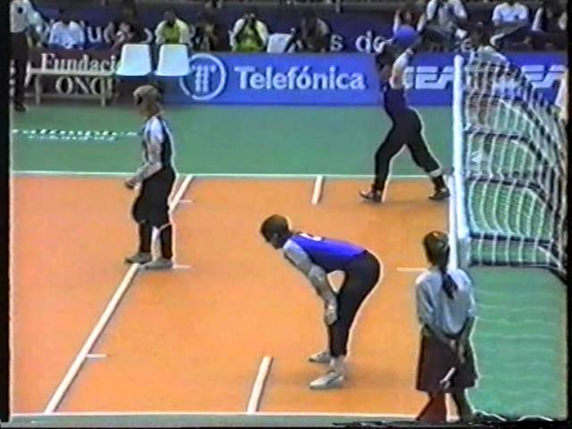 Goalball, Paralympic Games 1992, Barcelona, Men, final
