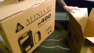 Afinia H400 3D Printer Setup: Part One