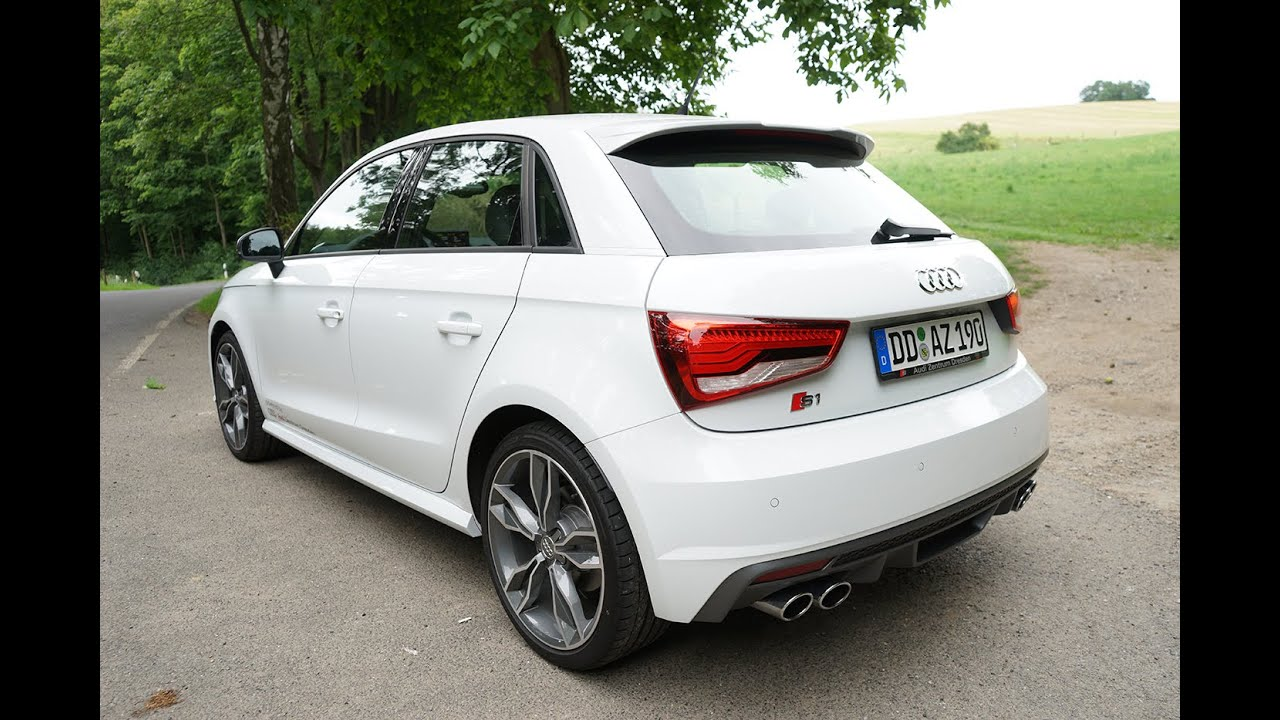 2015 audi s1 sportback fahrbericht review ep 25 lets drive youtube. Black Bedroom Furniture Sets. Home Design Ideas