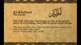 Names of Allah - Al Khabeer