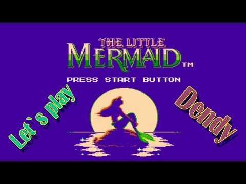 Let`s play Dendy - Little Mermaid (Русалочка)