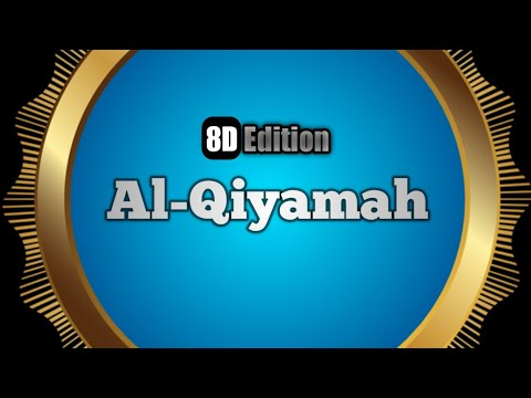 Surah Al Qiyamah 8D QURAN | Al-Qiyomat Surasi o'zbekcha Tarjimasi, O'qilishi Ustadz Hanan Attaki
