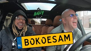 Bokoesam - Bij Andy in de auto! (English subtitles)