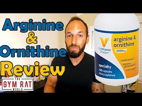 L-Arginine-Ornithine 2000 mg   Vitamin Shoppe    Supplement Review