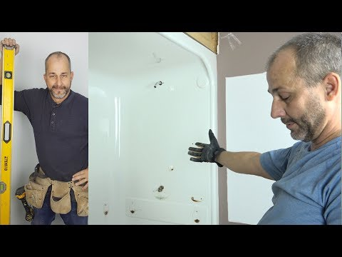 How To Remove an Acrylic Shower Stall