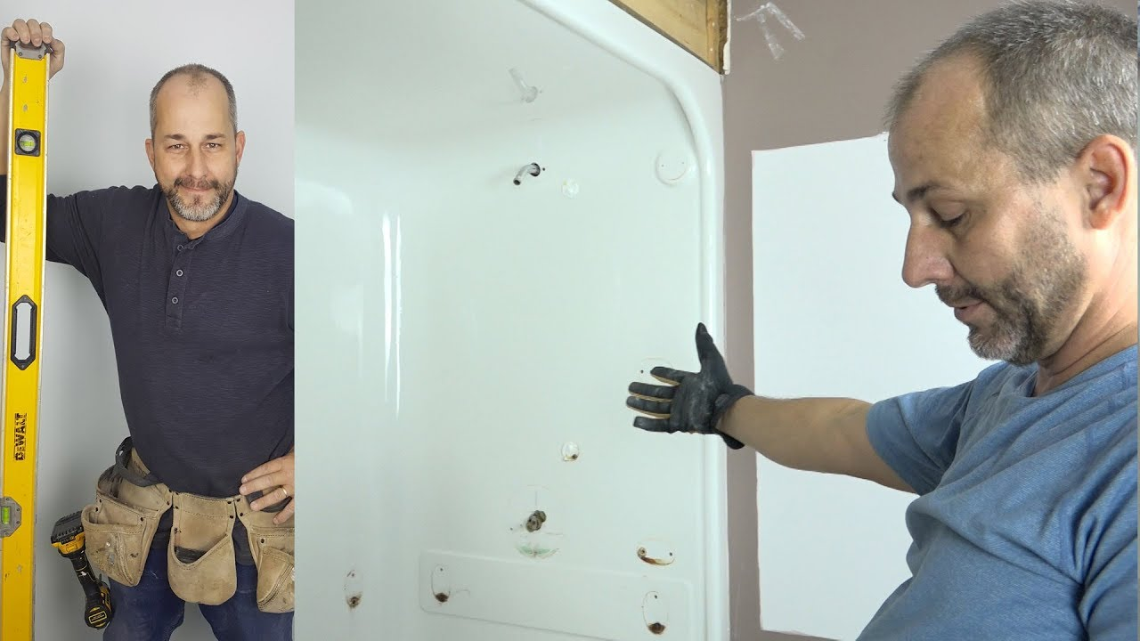 Merveilleux How To Remove An Acrylic Shower Stall