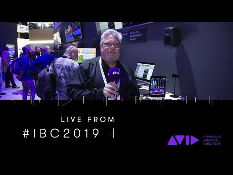 #AVID #IBC2019 LIVE ⏩ The updated Avid Control app is coming soon — Gil Gowing gives us a sneak peek