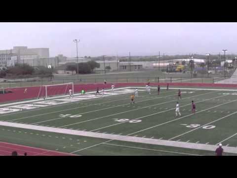 No. 16 Conroe vs Del Valle Area Playoff Match (4/3/14)