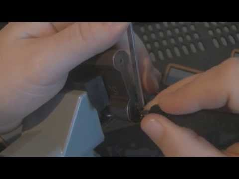Old TrioVing padlock Picked open SPP