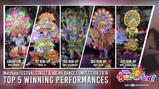 Top 5 Winning Performance (MassKara Festival 2018)