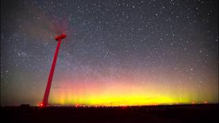 Aurora Borealis Time Lapse as seen from Washington State (northern lights)
