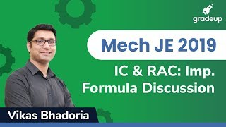 IC & RAC | RRB SSC/JE Exam 2019 |  Important Formula Discussion