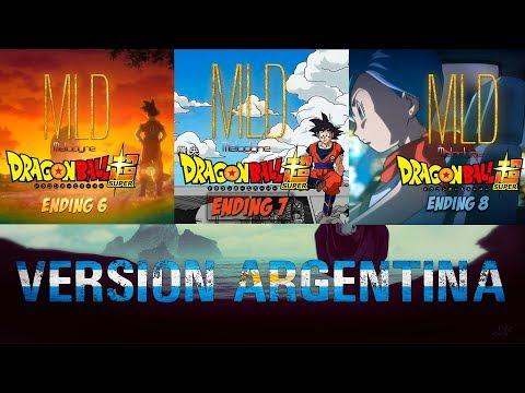 DB Super -  Endings 6, 7 y 8 (VERSION ARGENTINA)