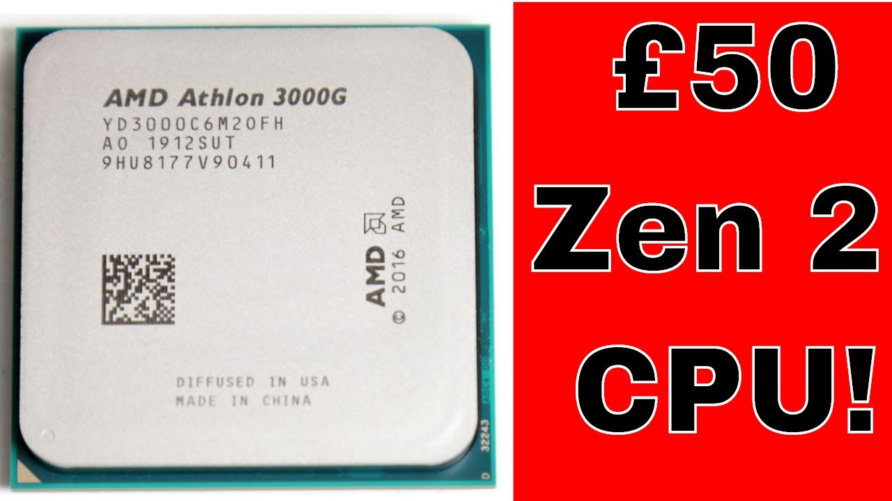 Amd Athlon 3000g Review An Unlocked 50 Value Cpu Testing Overclocking And Review Youtube