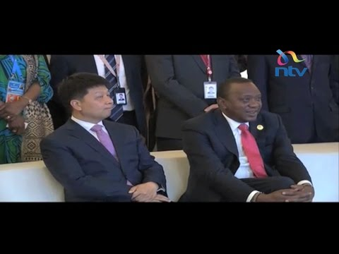 Kenya seals security deal with Chinese tech group
