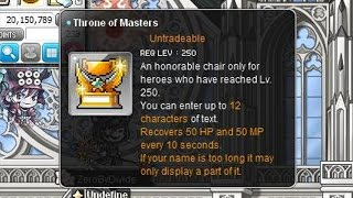 [GMS] MapleStory Level 250 Quest Completed