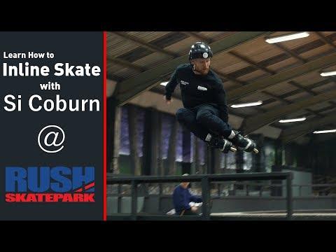 Inline Skate Coaching at Rush Skate Park!