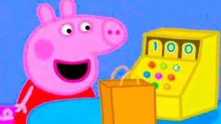 Свинка Пеппа стала продавцом. CARTOONS FOR KIDS