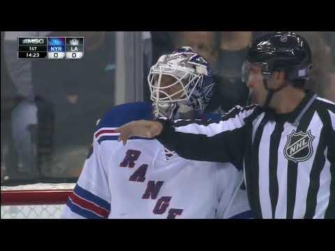 New York Rangers vs Los Angeles Kings 10.7.13