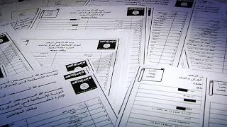 """وثائق مسربة تكشف بيانات مقاتلين أجانب في تنظيم """"الدولة الإسلامية""""   10-3-2016"""