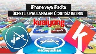 iPhone veya iPad'te App Store'daki Ücretli Uygulamaları Ücretsiz İndirmek - Kuaiyong(iOS 9.X uyumlu)